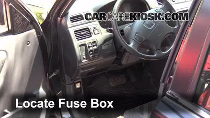 Fuse Interior Part on Honda Cr V Fuse Box Diagram