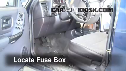 Interior Fuse Box Location 1997 2001 Jeep Cherokee 2000