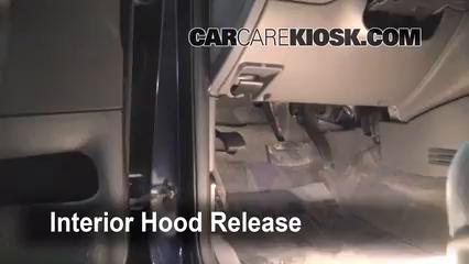 Escort parking brake wont release