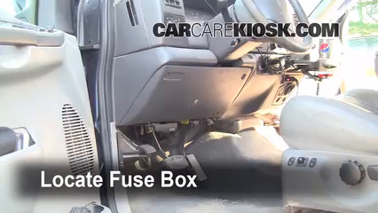 Interior    Fuse       Box    Location  19992007 Ford    F250    Super