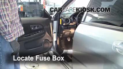 interior fuse box location 2004 2007 subaru impreza 2004 impala fuse box diagram 2004 impala fuse panel diagram #5