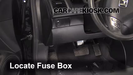 Interior    Fuse    Box Location  20032007    Honda       Accord     2006