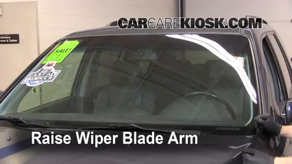 Front Wiper Blade Change Honda Pilot 2003 2008 2006