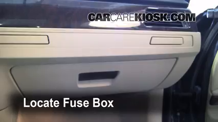 Interior Fuse Box Location 2006 2013 BMW 328xi 2008 BMW