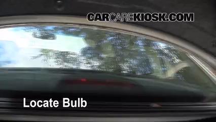 Third brake light bulb change honda accord 2008 2012 - Honda accord interior light bulb replacement ...