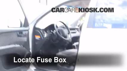 Interior Fuse Box Location 2005 2010 Kia Sportage 2008