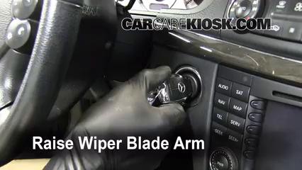 Front Wiper Blade Change Mercedes Benz E350 2003 2009