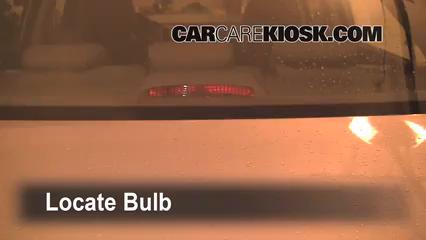 Third Brake Light Bulb Change Hyundai Sonata 2006 2010