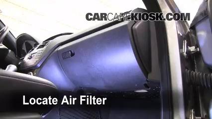 2008-2013 Mercedes-Benz C300 Cabin Air Filter Check - 2009 ...