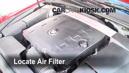 cabin filter replacement cadillac cts 2008 2014 2010