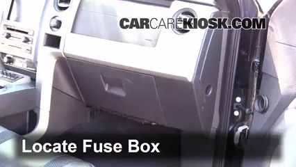 interior fuse box location 2009 2014 ford f 150 2010