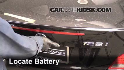 battery replacement 2008 2014 bmw 128i 2011 bmw 128i 3 0l 6 cyl. Cars Review. Best American Auto & Cars Review