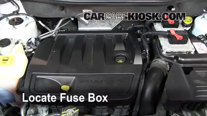 interior fuse box location 2007 2012 dodge caliber 2008