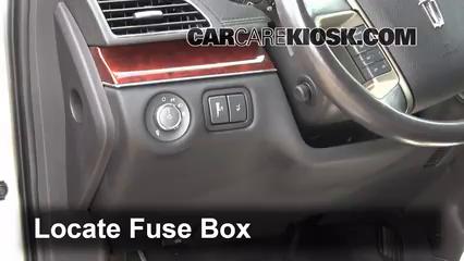 20102014    Lincoln    MKT Interior    Fuse    Check  2012    Lincoln    MKT 37L V6