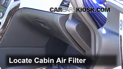 Cabin Filter Replacement Buick Verano 2012 2014 2013