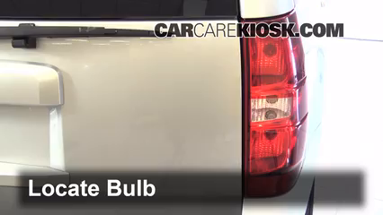 how to change light bulb in 2007 tahoe