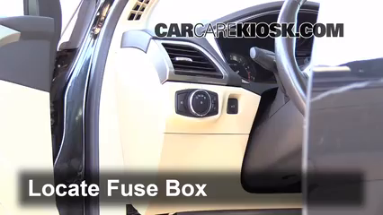 Interior Fuse Box Location 2013 2014 Ford Fusion 2013