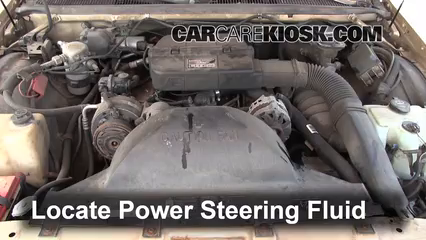 Follow These Steps to Add Power Steering Fluid to a Buick