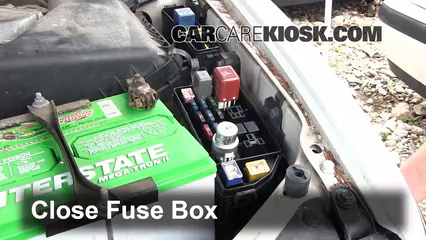 replace a fuse 1993 1996 lexus es300 1995 lexus es300 3 0l v6 6 replace cover secure the cover and test component