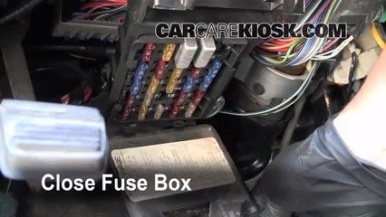 interior fuse box location buick park avenue  interior fuse box location 1991 1996 buick park avenue 1994 buick park avenue 3 8l v6