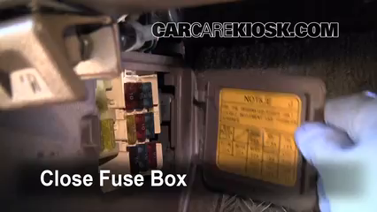 Interior fuse box location 1990 1995 toyota 4runner for 1994 toyota 4runner rear window problems