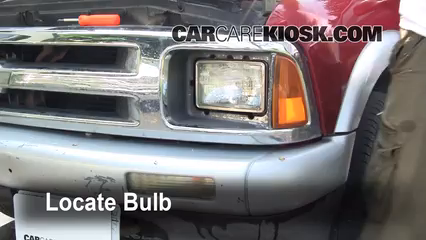 Headlight Change 1995 1997 Chevrolet Blazer 1995
