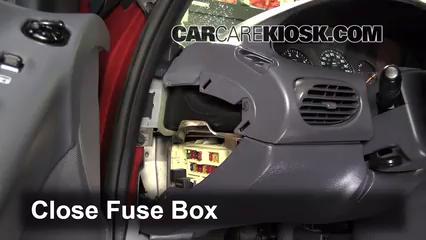 Interior Fuse Box Location 19952000 Dodge Stratus 1996 Dodge – Dodge Stratu Wiring Diagram Alarm
