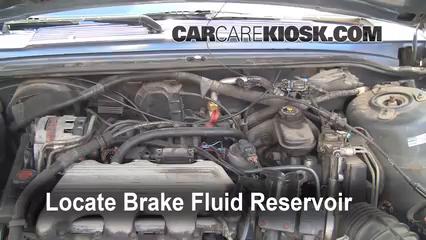 1990 Buick Century Problems 1 - Add Brake Fluid Buick Century Buick Century Custom L V - 1990 Buick Century Problems 1