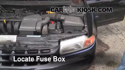 replace a fuse: 1996-2000 plymouth breeze - 1996 plymouth ... fuse box for 1998 plymouth breeze