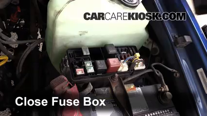 replace a fuse 1993 1998 toyota t100 1996 toyota t100 sr5 3 4l 6 replace cover secure the cover and test component