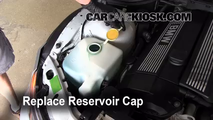5 replace cap put the cap back in place 6 bmw z3 1996 6 bmw z3 1996