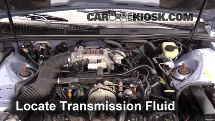 how to add transmission fluid on 2014 ford focus se