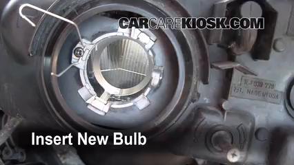 Headlight Change 1995 1999 Subaru Legacy 1997 Subaru