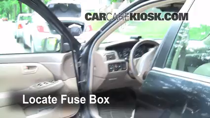 Interior Fuse Box Location 1997 2001 Lexus ES300 1998