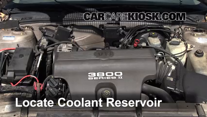coolant flush how to buick park avenue buick locate the coolant reservoir and clean it