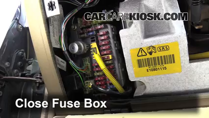 Interior Fuse Box Location 1994 1998 Land Rover Discovery