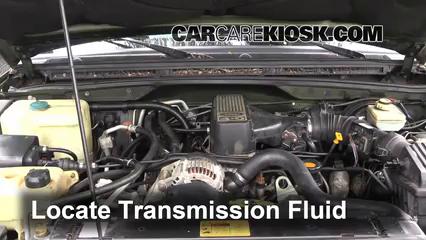 Transmission Fluid Part on 1998 Mercedes E320 Transmission Fluid