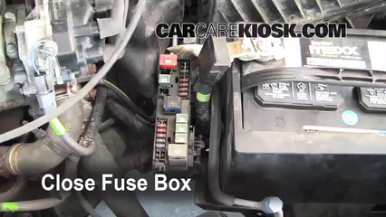 blown fuse check 1998 2001 nissan altima 1998 nissan altima gxe 6 replace cover secure the cover and test component