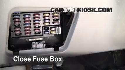 Interior Fuse Box Location 1998 2001 Nissan Altima 1998