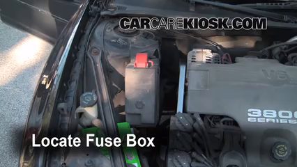 replace a fuse 1997 2004 buick regal 2004 buick regal ls 3 8l v6