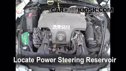 Oldsmobile Intrigue Gl L V Fpower Steering Part on 2007 Buick Lacrosse Power Steering Reservoir