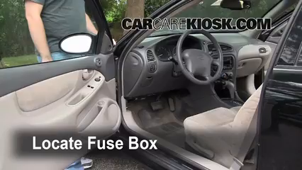 Fuse Interior Part on 2002 Buick Lesabre Electrical Problems