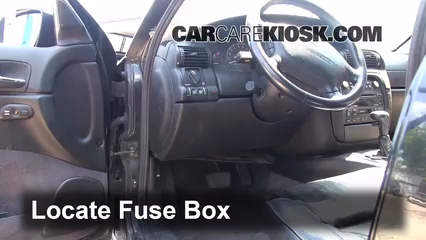 interior fuse box location 19972001 cadillac catera 1999 2009 cadillac cts interior fuse box location