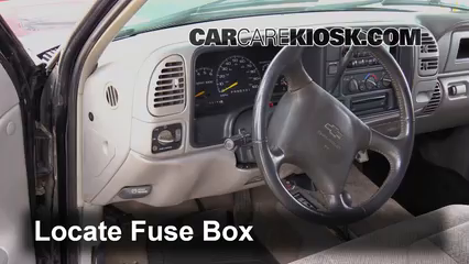 ubicaci n de caja de fusibles interior en chevrolet c1500 2010 chrysler town and country fuse box layout