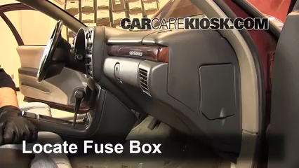 interior fuse box location 1995 1999 chevrolet monte carlo 1999 chevrolet monte carlo z34 3 8l v6. Black Bedroom Furniture Sets. Home Design Ideas