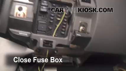 interior fuse box location 1997 2004 ford f 150 1999 ford f 150 2007 Ford F 150 Fuse Box Location interior fuse box location 1997 2004 ford f 150 1999 ford f 150 xlt 4 6l v8 extended cab pickup (4 door) 2007 ford f150 fuse box location