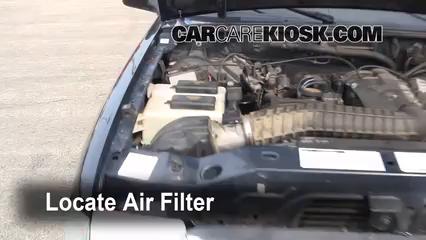 1997 ford ranger cab air filter removal ford explorer. Black Bedroom Furniture Sets. Home Design Ideas