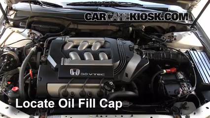How To Add Oil Honda Accord 1998 2002 1999 Honda