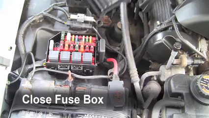 replace a fuse ford crown victoria ford crown 6 replace cover secure the cover and test component