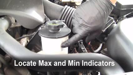 power steering leak fix 1992 2011 mercury grand marquis 1999 6 check level determine the power steering fluid level
